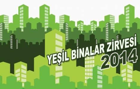 Uluslararası Yeşil Binalar Zirvesi için geri sayım başladı!