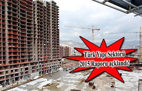 Türkiye'de inşaat sektörü yüzde 1.7 büyüdü!
