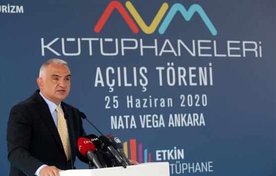 Mehmet Nuri Ersoy: Amacımız 500'e yakın AVM'yi kütüphanelerle buluşturmak!