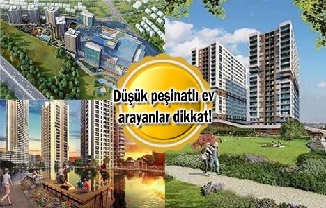 10 bin TL peşinatlı konut projeleri Aralık 2017!