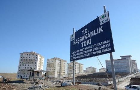 TOKİ'den Güneydoğu'ya ücretsiz 48 bin ev!
