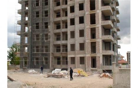 Konya Ereğli'de inşaat