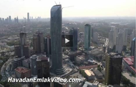 Spine Tower Projesi'nin havadan en son görüntüleri!