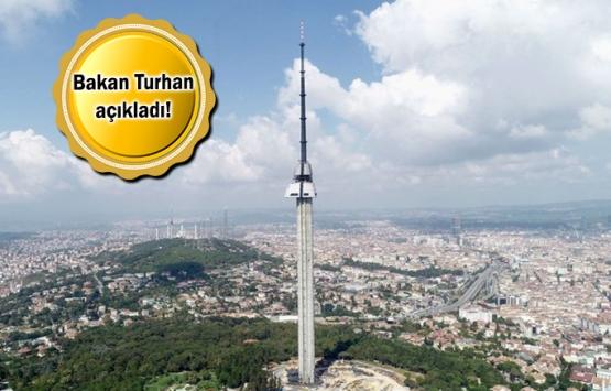 Çamlıca Kulesi'nin açılış tarihi belli oldu!