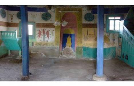 Denizli'deki 143 yıllık cami bakımsızlıktan yıkılıyor!