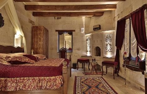 Kapadokya'daki mağara evler yılbaşında da turistlerin ilk tercihleri arasında!