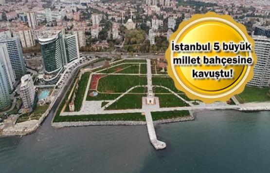 Türkiye'nin ilk millet bahçeleri açıldı!