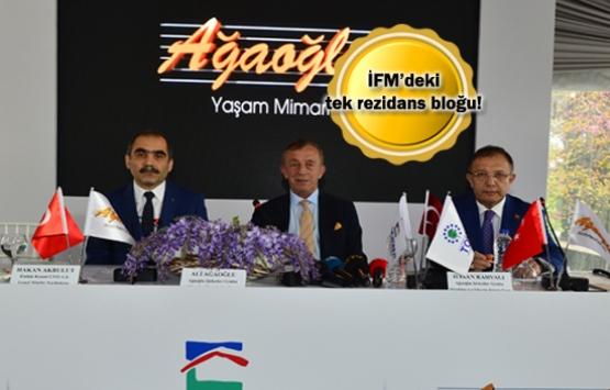 Ağaoğlu İstanbul Finans Merkezi rezidans bloğu satışta!