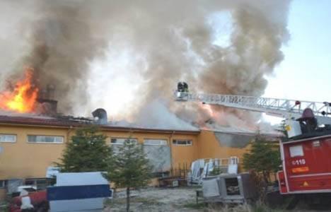 Burdur Öğrenci Yurdu'nda çıkan yangın söndürüldü!