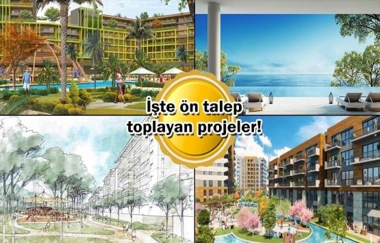 Yeni projeler raftan iniyor!