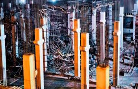 Ankara Sincan'da fabrika inşaatında çökme meydana geldi!