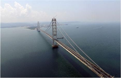 Osmangazi Köprüsü'nde son