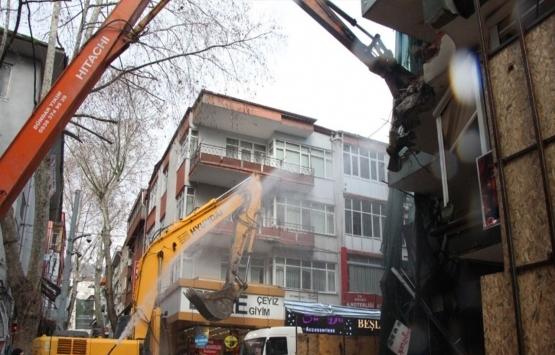 Kızılay AVM'de tedbirli yıkım başladı!