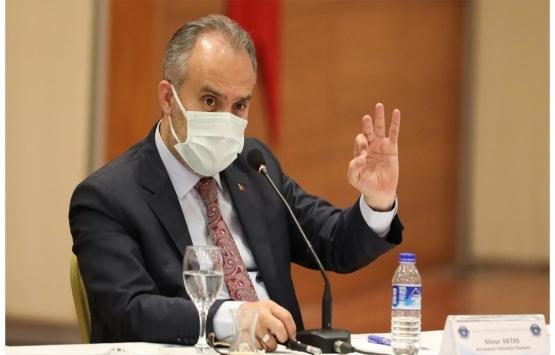 Bursa'da 17 ilçe belediye başkanı ile deprem toplantısı yapıldı!