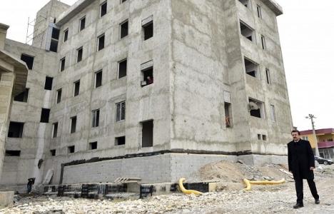 Tenzile Erdoğan İmam Hatip Lisesi'nin inşaatı tamamlanıyor!