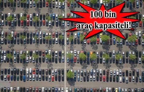 İstanbul'a yeni otopark