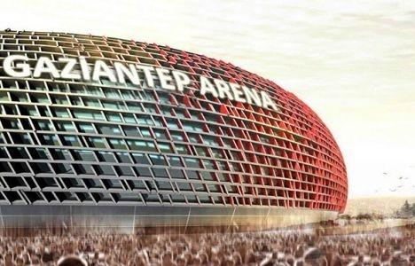 Gaziantep Arena'da açılış