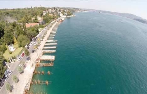 Emirgan sahil yolunun genişletilmesi projesi yeni yılda tamamlanacak!