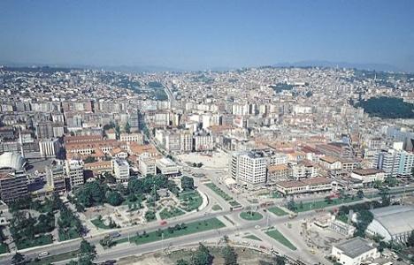 Samsun'da kaçak yapılaşmaya