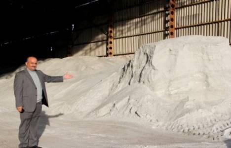 Çankırı'da köy sakinleri tarım arazisine kurulacak tuz fabrikasını protesto etti!