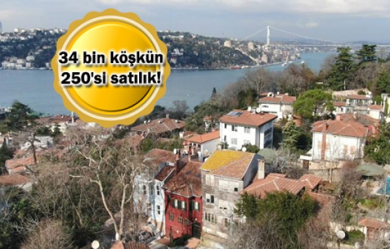 İstanbul'un satılık 250