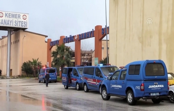 Antalya Kemer Yeni Küçük Sanayi Sitesi iş yeri yapım işi ihalesi