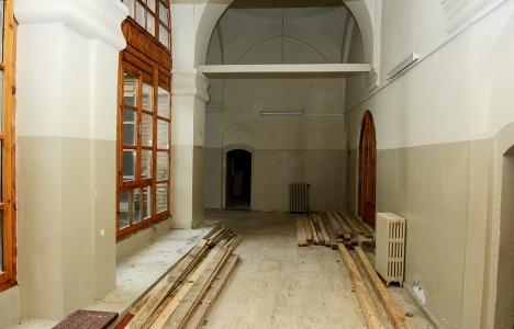 Muradiye Külliyesi'ndeki medresede restorasyon çalışmaları başladı!