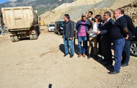 Turkay Özgür Kapıçay Barajı inşaatını inceledi!