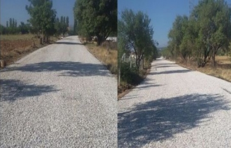 Denizli Acıpayam'da 10 kilometrelik asfalt çalışması tamamlandı!