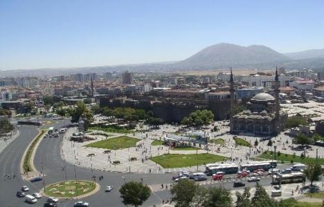 Kayseri'de TOKİ arsasına