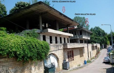 Boğaz'daki iki metruk villa yıkılmaya bekliyor!