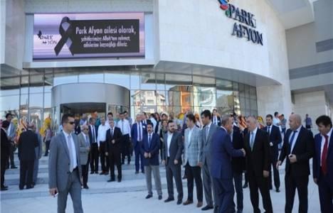 Park Afyon AVM törenle açıldı!