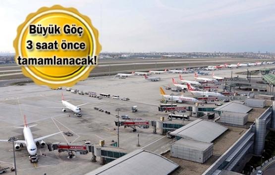 İstanbul Havalimanı'na taşınmanın
