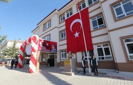 Binbaşı Arslan Kulaksız Ortaokulu açıldı!