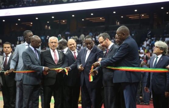 Eximbank'ın Senegal'deki Dakar Arena projesi açıldı!