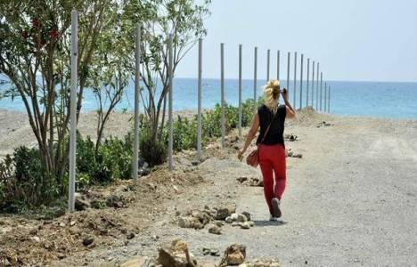 Antalya Kadınlar Plajı'na yönelik düzenleme çalışmaları devam ediyor!