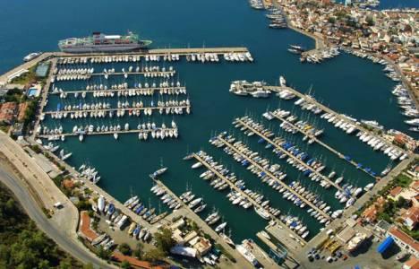 Marmaris'te Yat Limanı