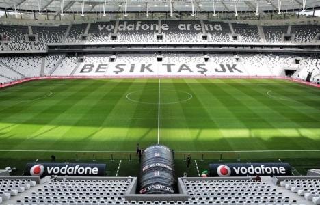 Vodafone Arena'da onarım