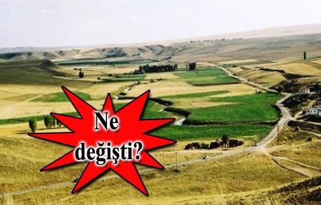 Tarım arazilerinin bölünmesi