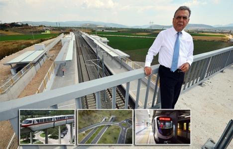 İzmir'de ulaşım yatırımları zirveye çıkacak!