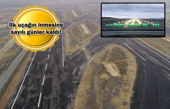 3. havalimanında tarihi an! Işıklar ilk kez yandı!