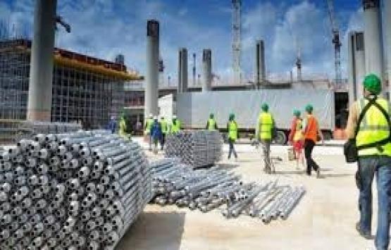 İnşaat malzemeleri sanayisi yüzde 2,7 küçüldü!