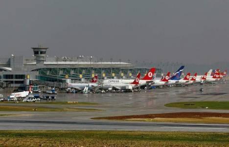 Atatürk Havalimanı iniş-kalkış