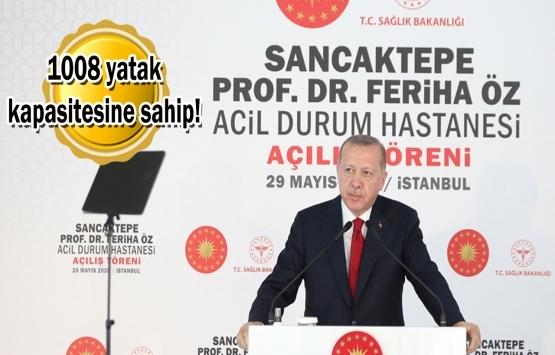 Sancaktepe Prof. Dr. Feriha Öz Acil Durum Hastanesi açıldı!