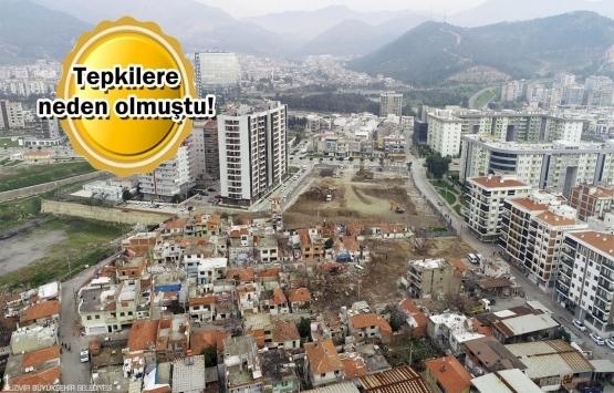 İzmir Örnekköy kentsel dönüşüm projesinde revizyon!