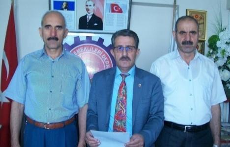 TOKİ Elazığ'a emekliler
