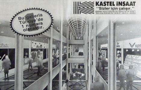 1987 yılında Galleria'da