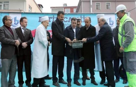 Bağcılar Fetih Camii'nin temeli atıldı!
