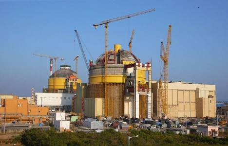 Hindistan'daki nükleer santralin