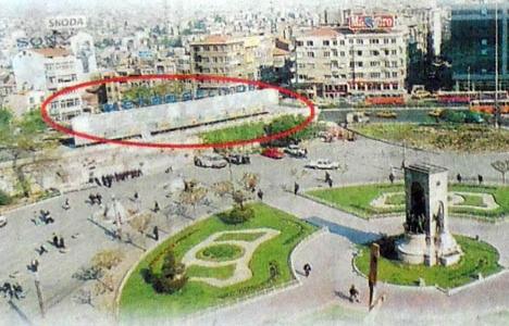 1998 yılında ''Taksim'e